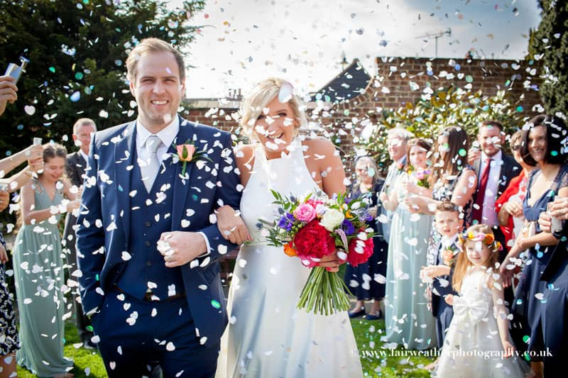 Colourful, bright and intimate wedding at the Old Parish Rooms in Essex – Modern, relaxed & natural wedding photography